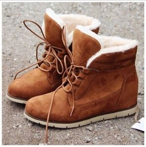 Faux Fur Lined Booties